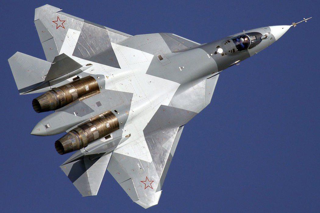 蘇愷57戰機。 (路透)
