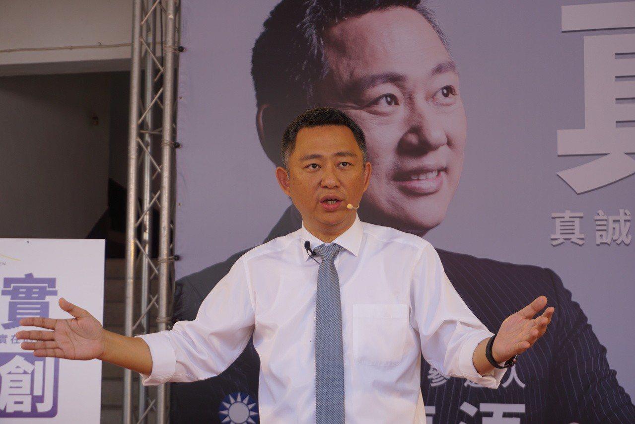 中國國民黨金門縣長參選人楊鎮浯說,年輕是他的優點,但從政經驗相對略顯不足,是他最...