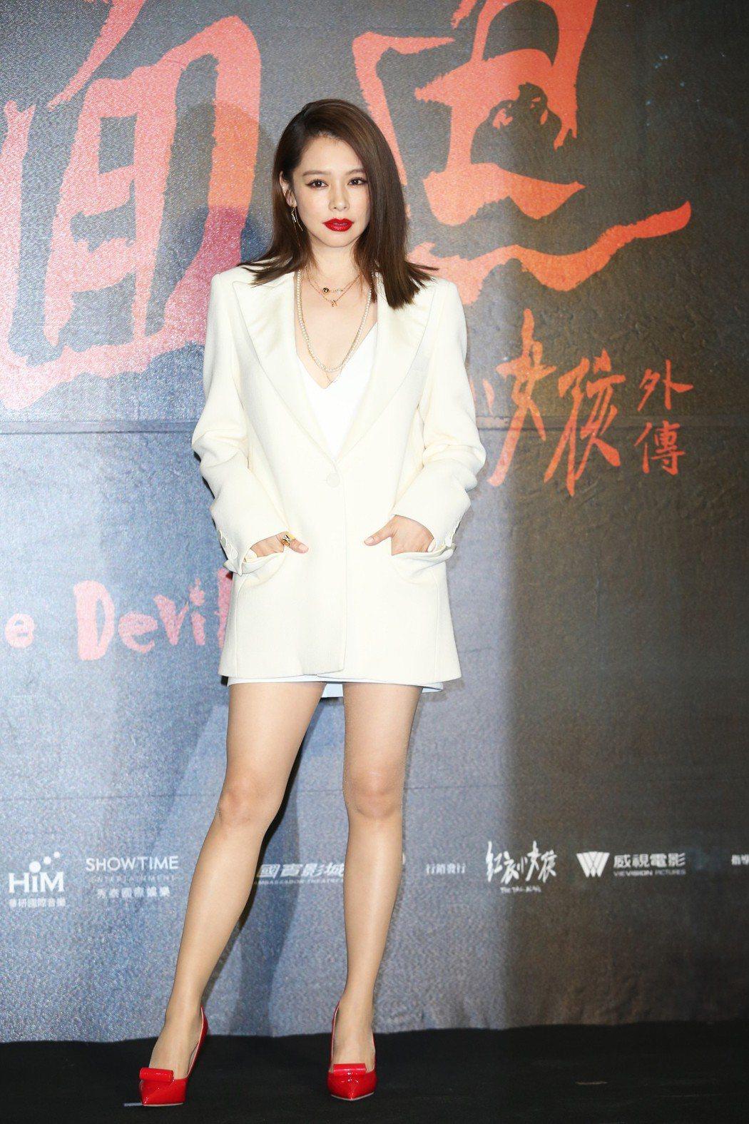 徐若瑄遭爆20萬接拍《紅衣外傳》。 圖/聯合報系資料照