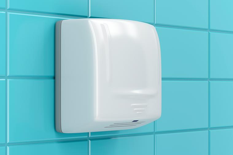 有研究發現,使用廁所內的烘手機,反而會讓你的手上沾滿更多的細菌。 圖/ingim...