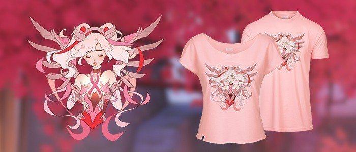 限量版「粉紅慈悲慈善T-shirt」。