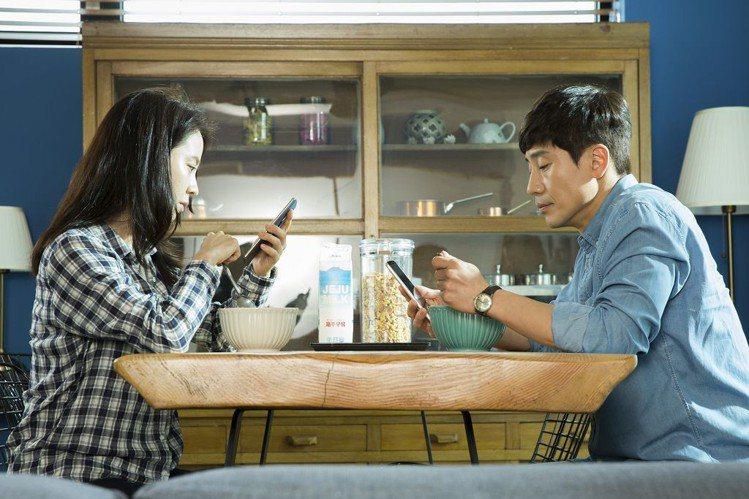 《風流大丈夫》宋智孝與申河均扮老夫老妻。圖/車庫娛樂提供