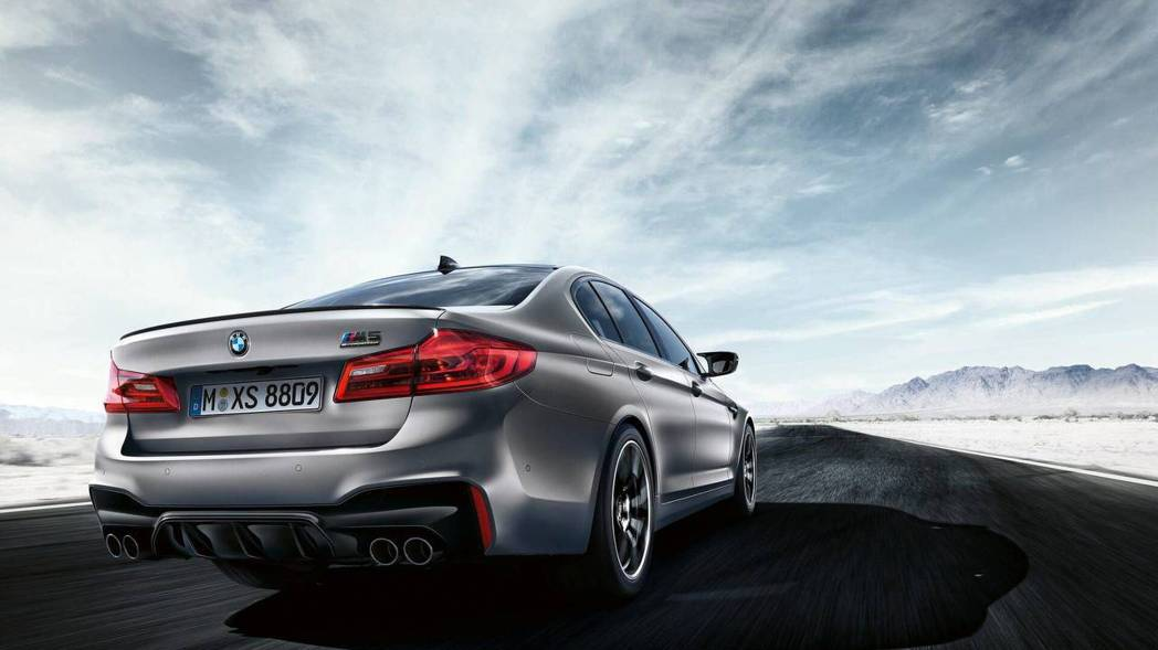 BMW F90 M5 Competition。 摘自BMW