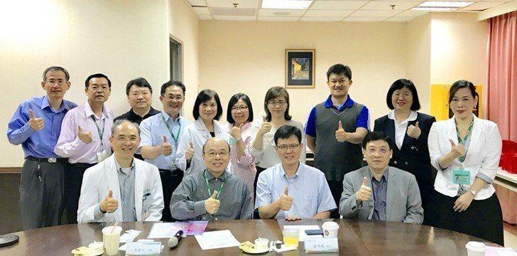 中國科技大學團隊拜會湖口仁慈醫院促未來深度交流合作。 校方/提供