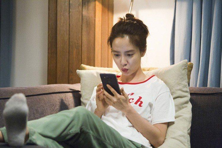 《風流大丈夫》宋智孝飾申河均妻子。圖/車庫娛樂提供