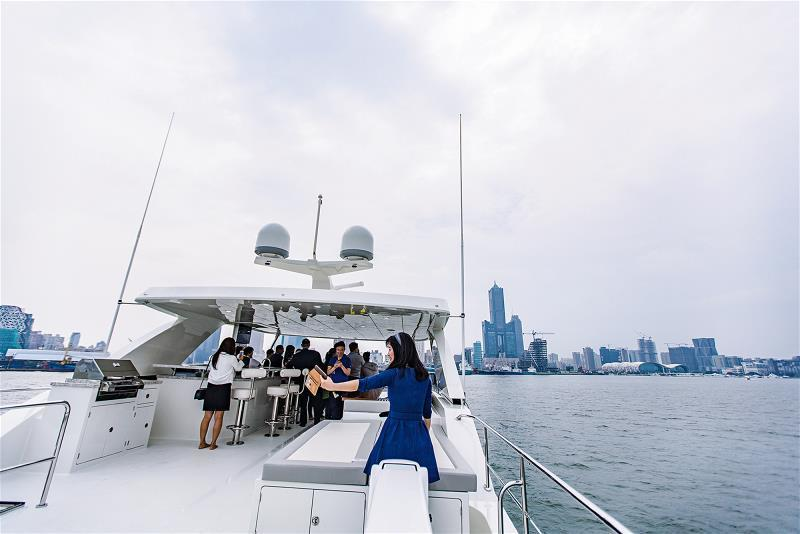 對遊艇玩家來說,遊艇不只是休閒娛樂與代步的工具,更是身分表彰。
