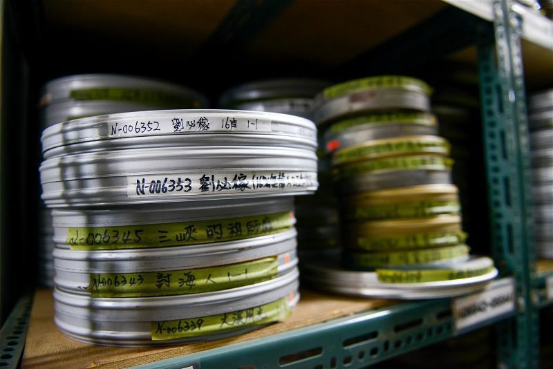國家電影中心樹林片庫收藏許多年代久遠之珍貴影片。