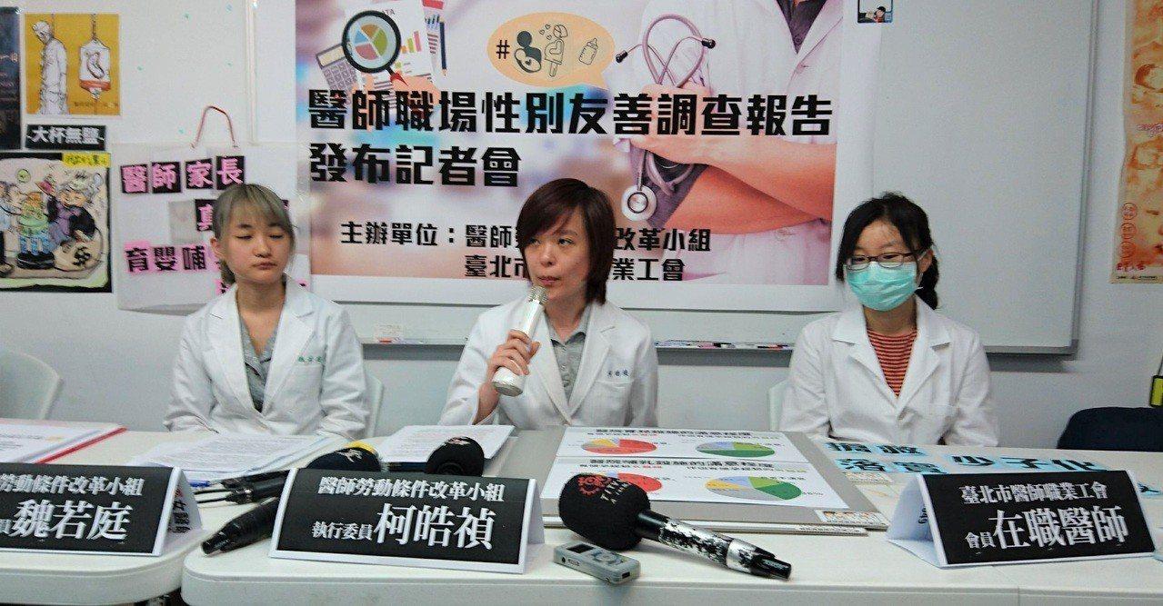 以醫學生與青年醫師為主的「醫師勞動條件改革小組」調查發現,不少住院醫師在求職面試...
