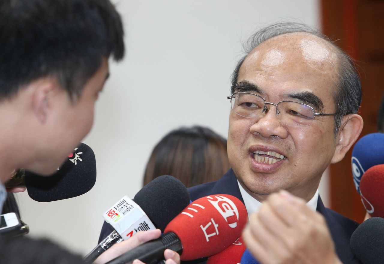 教育部長吳茂昆。記者陳正興/攝影