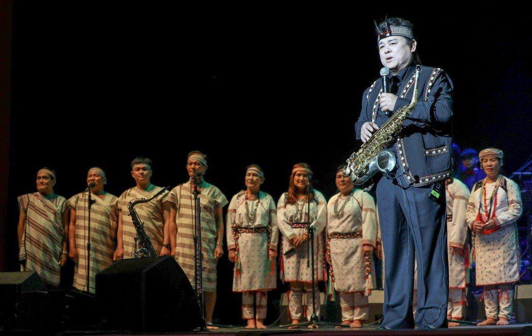 薩克斯風教父胡笙7日舉辦音樂會。圖/胡笙音樂藝術提供