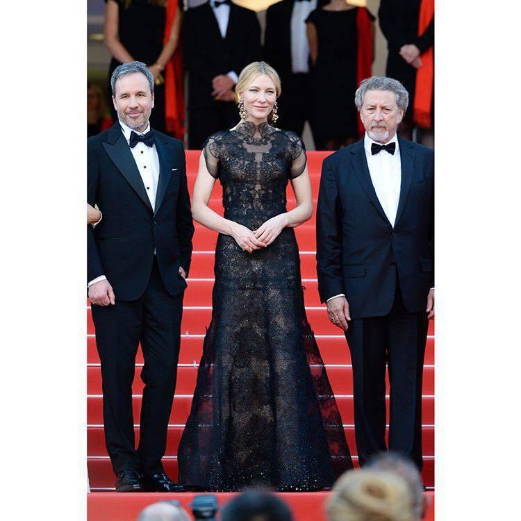 凱特布蘭琪「回收」2014年在金球獎頒獎典禮穿過的亞曼尼高級訂製服,重新搭配蕭邦...