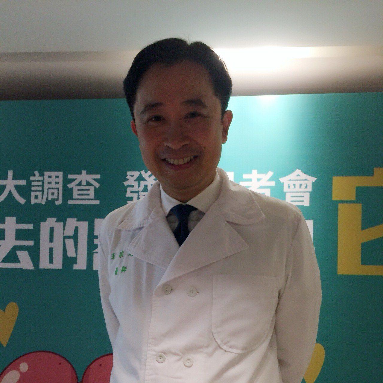 台大醫院心臟內主治醫師王宗道表示,若是自己罹患高血壓,最擔心腎臟病變,害怕終生必...