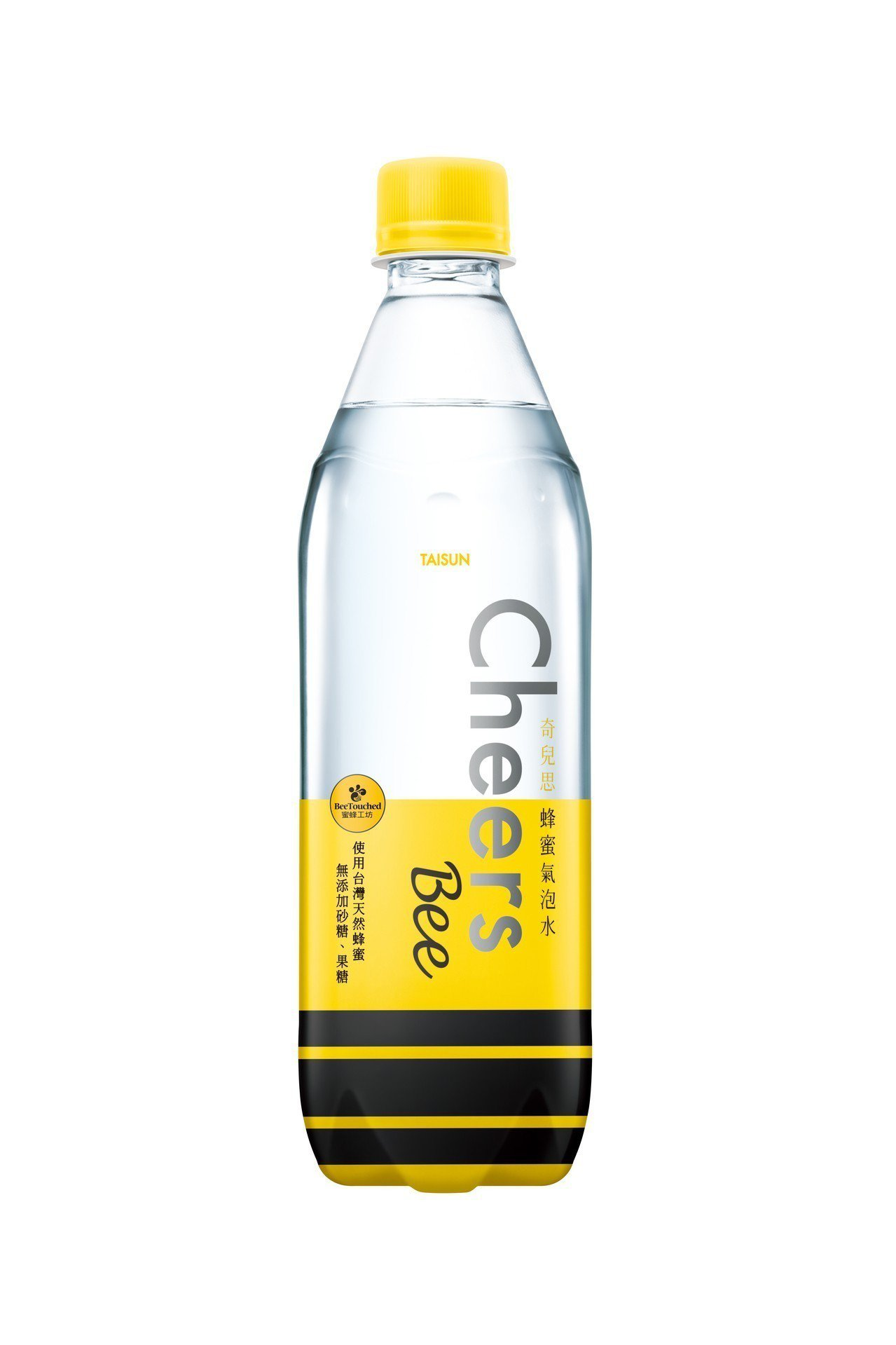 Cheers蜂蜜氣泡水,添加蜜蜂工坊的台灣天然蜂蜜。圖/泰山提供