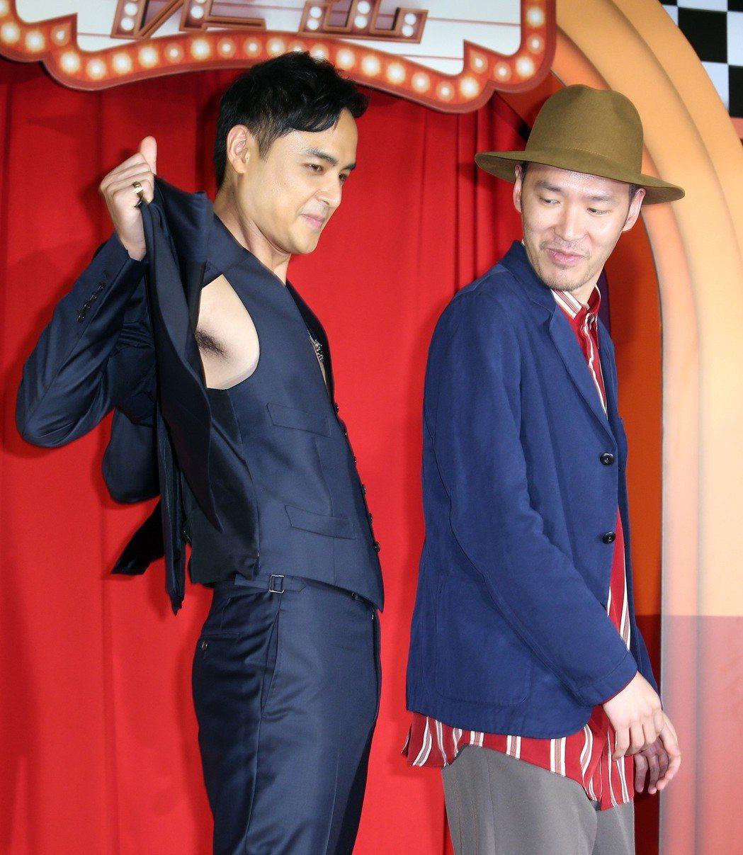 《市長夫人的秘密》電影首映會,演員張少懷、明道出席。記者曾吉松/攝影