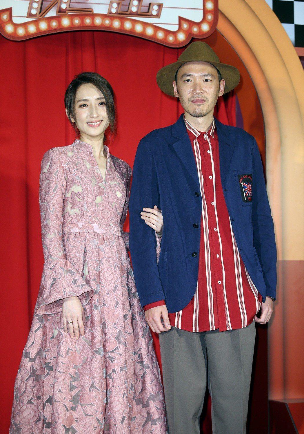 《市長夫人的秘密》電影首映會,演員張少懷、柯佳嬿出席。記者曾吉松/攝影