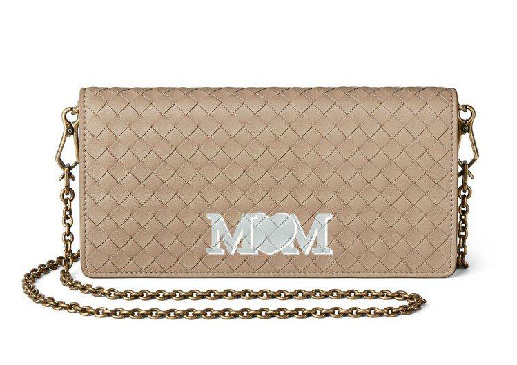 編織小羊皮鍊帶包,37,000元。圖/Bottega Veneta提供