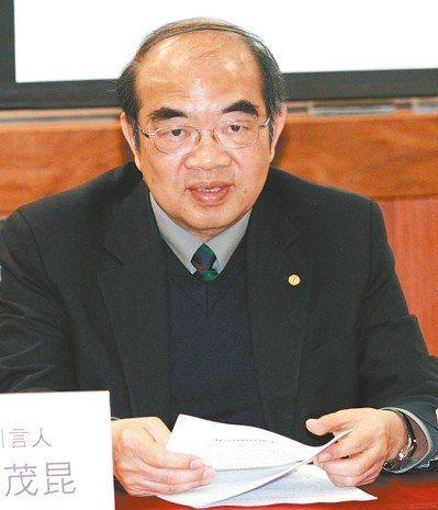 教育部長吳茂昆。報系資料照