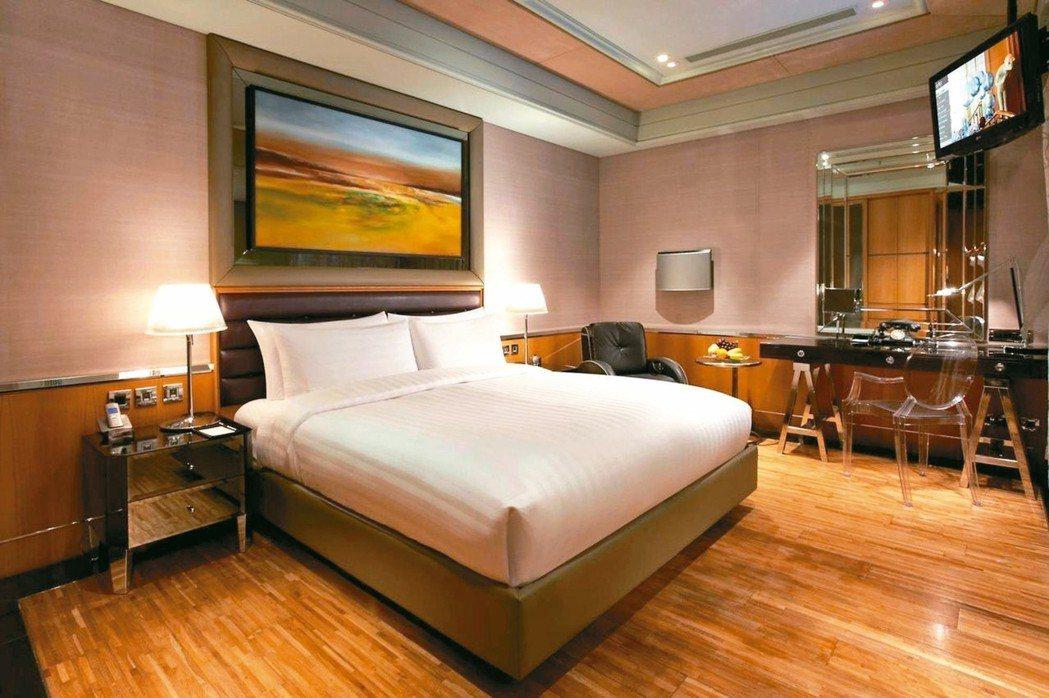 全球百大精品旅店之一的台北怡亨酒店。 圖/Hotels.com提供