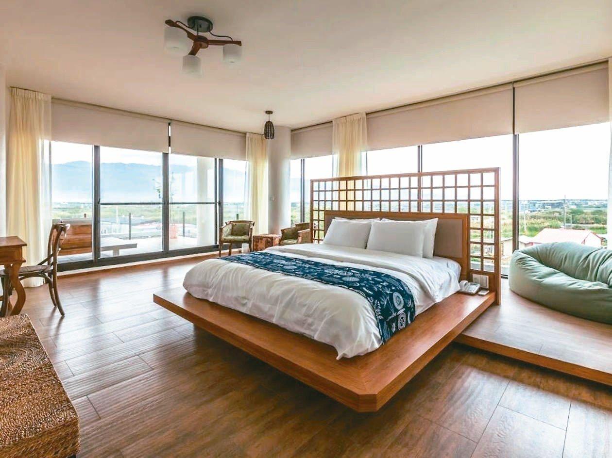 奪得9.6高分的宜蘭湖水綠水岸會館。 圖/Hotels.com提供