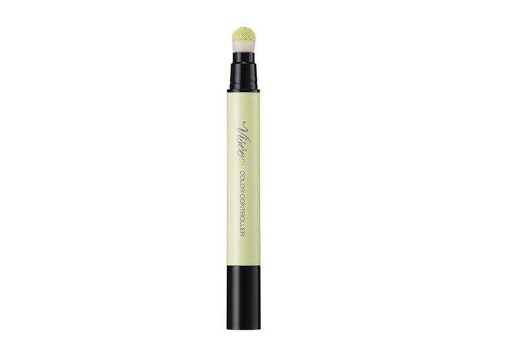 Visee調色氣墊修飾筆#GR-2透明淺綠色,售價350元。圖/Visee提供
