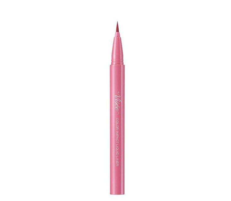 Visee絕魅聚焦眼線液筆#PK840睛亮魅惑粉(限量色),售價280元。圖/V...