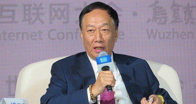 鴻海董事長郭台銘。 報系資料照