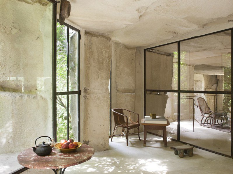 喬納森的現代穴居也曾吸引法國前總統前來住宿。