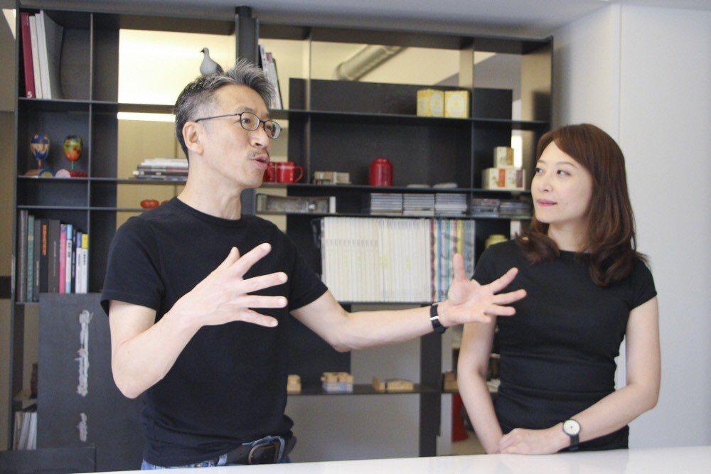 「創域冶境師」- 好適設計 共同主持人 何俊毅(左)與廖亮宜(右)設計師。圖/ ...