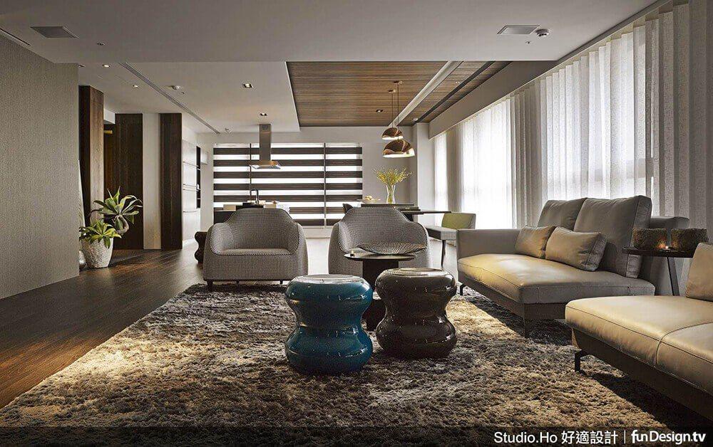 榮獲 2016 年「SIDA 新加坡室內設計大獎/住宅高層類 金獎」的《生活容器...