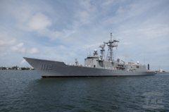 退將披露 海軍新飛彈巡防艦擬減列裝備以符造艦進度