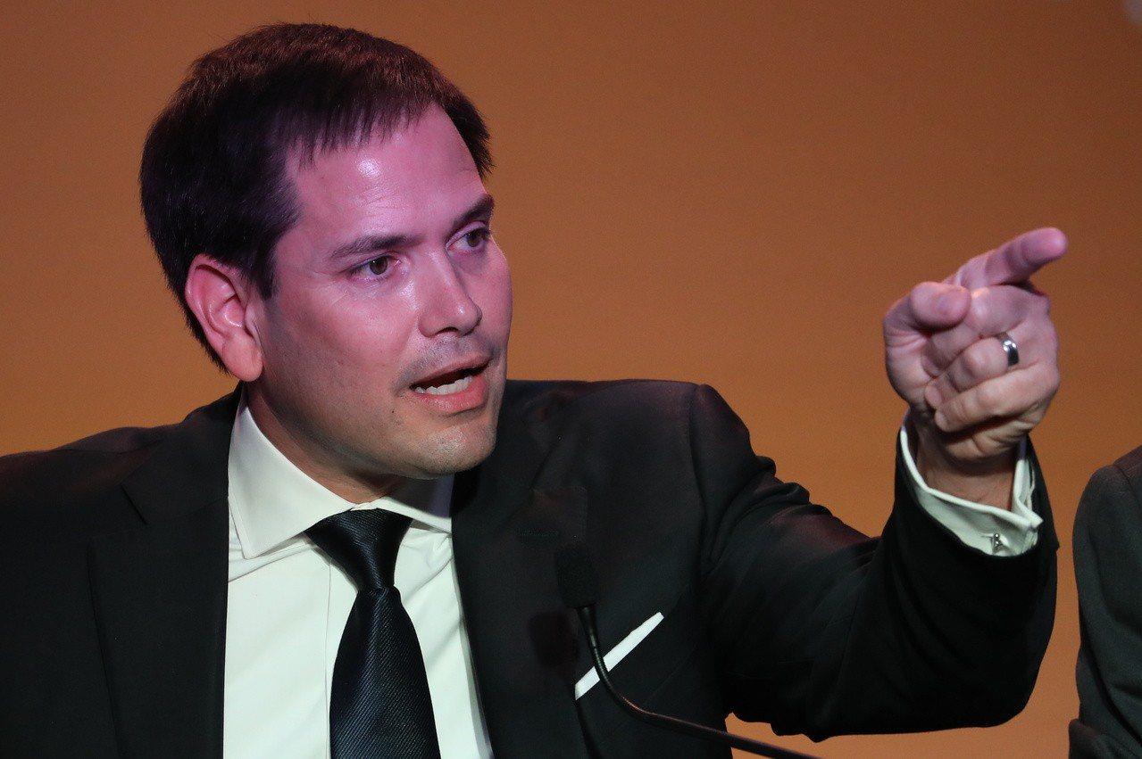 美國共和黨籍聯邦參議員盧比歐(Marco Rubio)。歐新社
