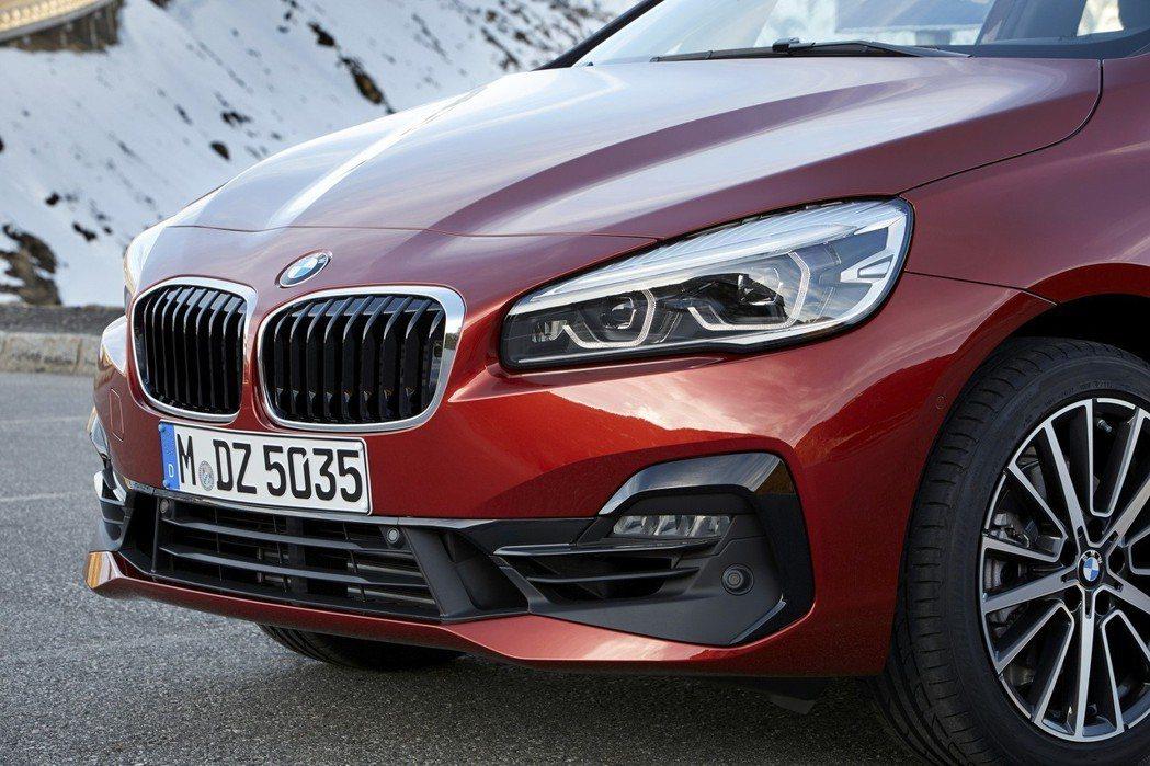 搭載Sport Line風格套件之全新車頭造型。 圖/汎德提供