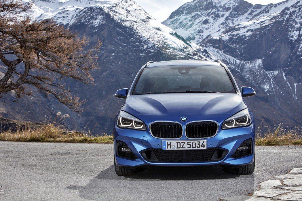 全新BMW 2系列Gran Tourer搭載M Sport套件。 圖/汎德提供