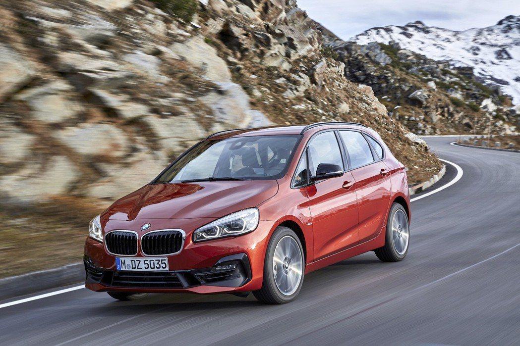 全新BMW 2系列Active Tourer 。 圖/汎德提供