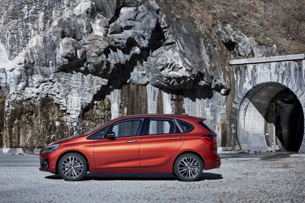 全新BMW 2系列Active Tourer。 圖/汎德提供