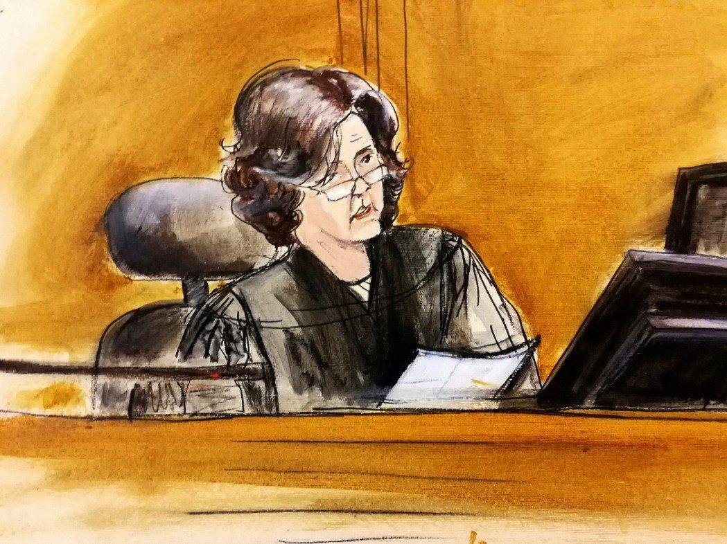 如果聘用AI律師的話,川普的眾多官司勝算會不會比較大呢?圖為負責審理川普律師寇恩...