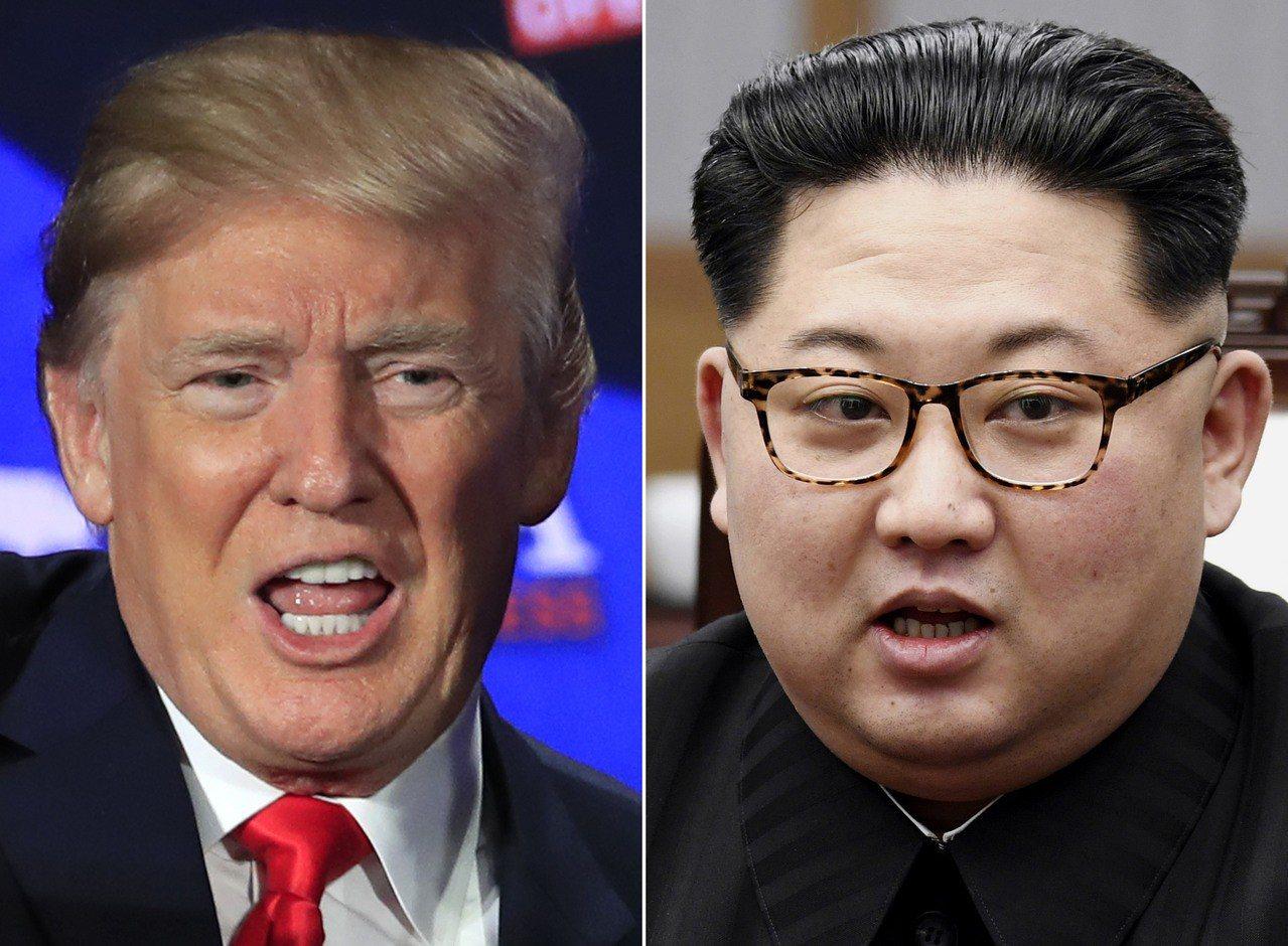 美國總統川普與北韓領導人金正恩的世紀會談確定選在新加坡。 美聯社