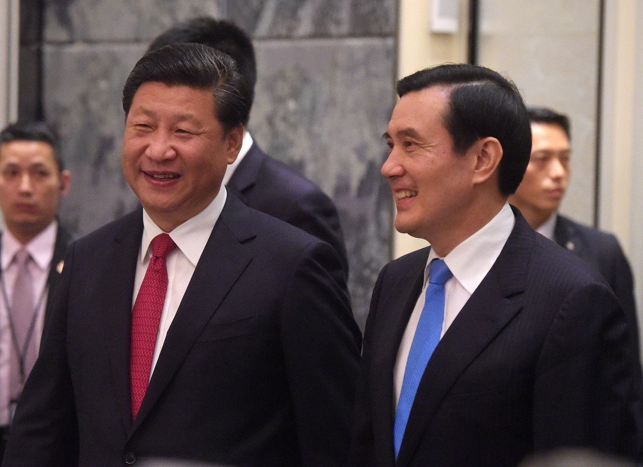 前總統馬英九和中國國家主席習近平當年也是選在新加坡會談。美聯社