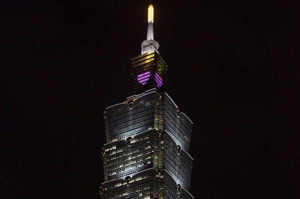 媽媽神叮嚀 「早點回家」登台北101外牆輪播