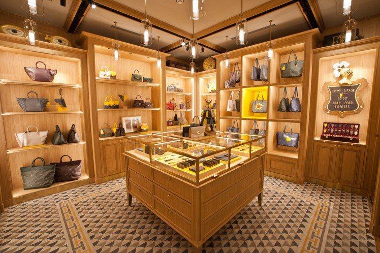 FAURÉ LE PAGE在新光三越A4館開設全球第4個專門店。圖/FAURÉ ...
