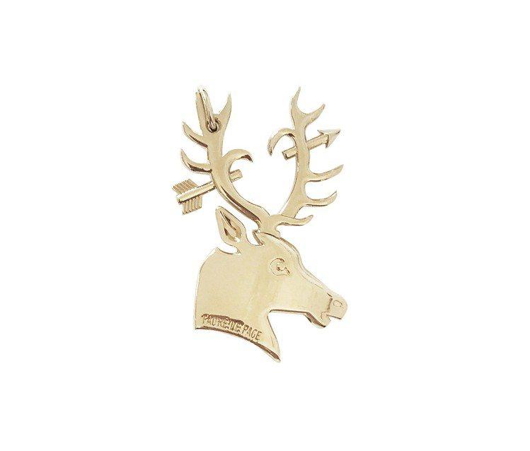 為慶賀台北店上市的限店Deer Love徽章,售價2,200元。圖/FAURÉ ...