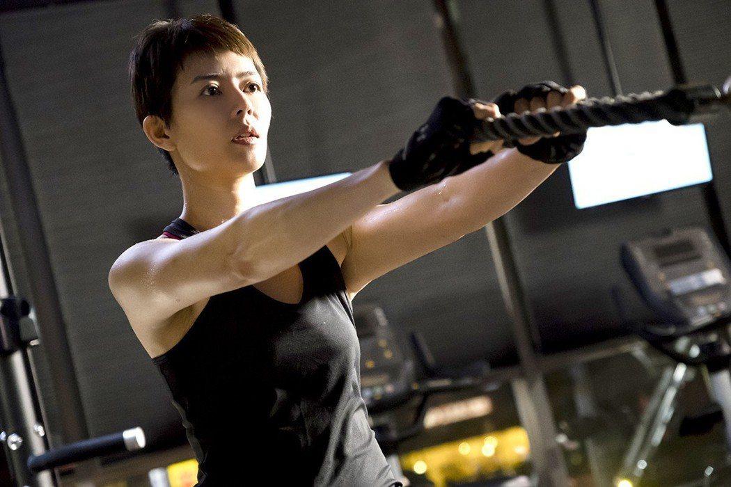 劉香慈私下熱愛運動。圖/TVBS提供