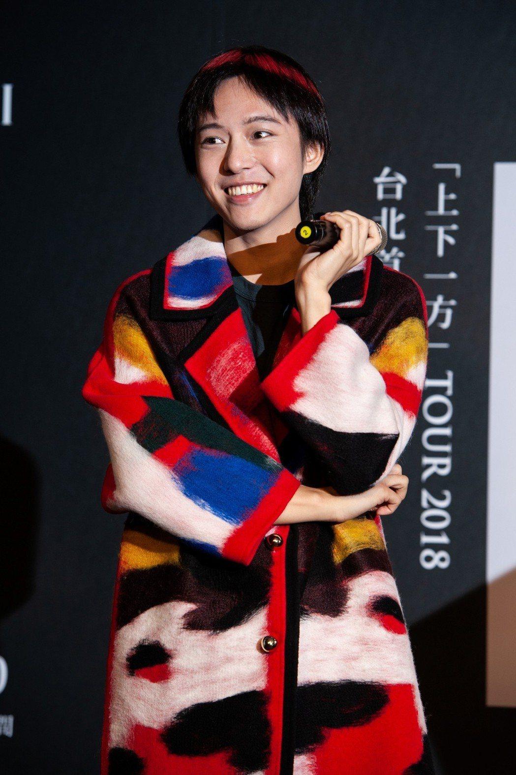 邱比宣佈台北站演出將在7月27日晚上的永豐 Legacy舉行。圖/ROKON滾石