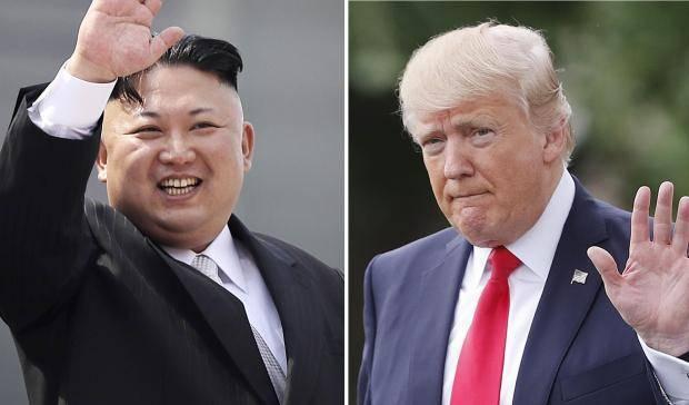 北韓領導人金正恩與美國總統川普將在新加坡舉行高峰會談。 美聯社