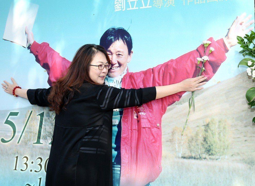 趙永馨出席「劉立立導演紀念回顧展」。記者林澔一/攝影