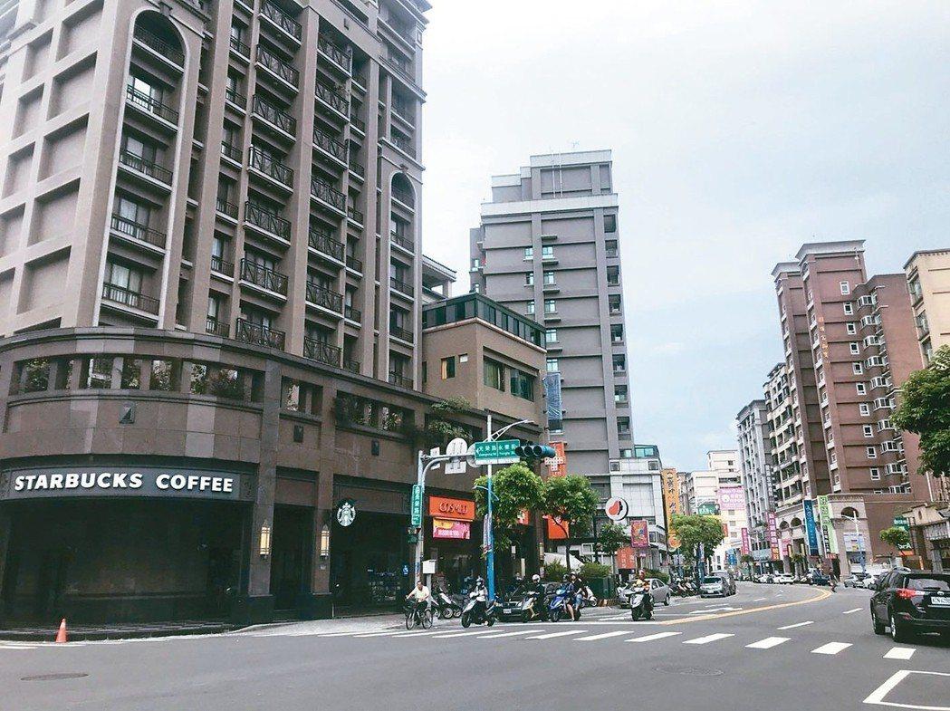 蘆洲南港子重劃區街景。 台灣房屋蘆州徐匯加盟店/提供