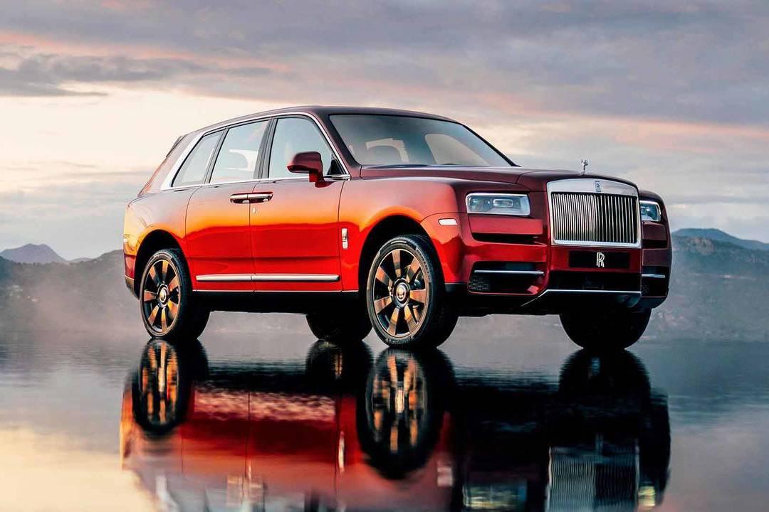 Rolls-Royce首款休旅 LSUV王者Cullinan正式亮相