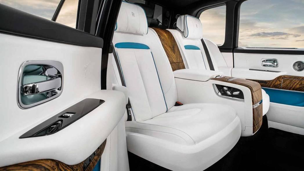 獨立式四人座椅。 摘自Rolls-Royce