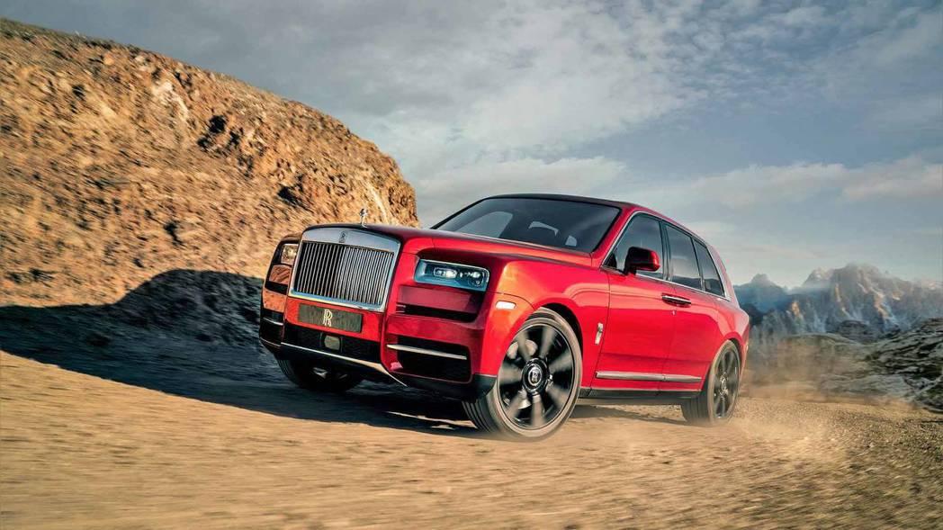 Rolls-Royce Cullinan。 摘自Rolls-Royce