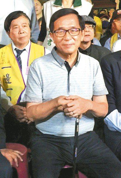 柯文哲去年上節目說阿扁那個病「他一開始是裝的,後來真的病了」,引發軒然大波。 圖...